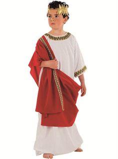 Disfraz de aristócrata griego para niño | Comprar