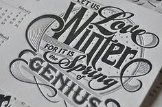 More or less Letterpress and some mural... • typostrate - the typography and design blog