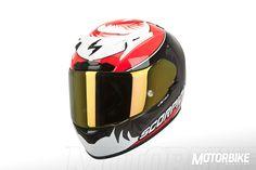 Hemos elegido el Scorpion EXO 2000 Air EVO para nuestro bazar, un casco que cuenta con todas la características para ser un perfecto casco de MotoGP