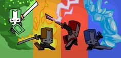 Multiple versions of games? Castle Crashers, V Games, Video Games, Green Knight, Gaming Tips, Michelangelo, Online Games, Dungeons And Dragons, Anime Characters