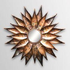 Buy Shaz Living California Mirror Antique Copper Online in India - SH057DE44HHFINDFUR - FabFurnish.com