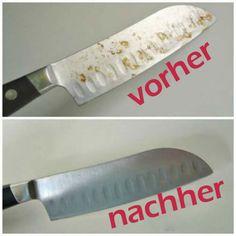 Rostiges Messer Haushalt