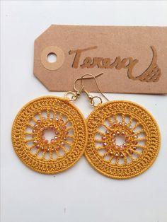 New Ideas Crochet Jewelry Accessories Crochet Earrings Pattern, Crochet Jewelry Patterns, Crochet Motifs, Crochet Bracelet, Bead Crochet, Crochet Accessories, Crochet Lace, Jewelry Accessories, Crochet Shawl