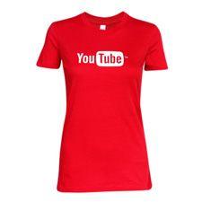 Ladies YouTube Favorite Tee #youtube #tshirt #red