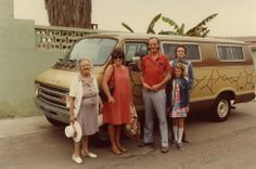 Physicist Richard Feynman with his family in Mexico the science symbols on the van.he was one wild genius Science Symbols, Science Geek, Weird Science, Science Education, Richard Feynman, Manhattan Project, Nobel Prize Winners, Physicist, Science