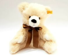 Steiff Teddy Bear beige plush 30 cm/ 12 inch plush animal  #Steiff Steiff Teddy Bear, Plush Animals, Beige, Toys, Activity Toys, Felt Stuffed Animals, Dog Stuffed Animals, Games, Ash Beige