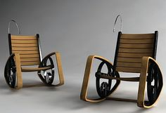 chair generates renewable electricity from kinetic energy