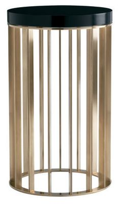 Baker Knapp & Tubbs Lexicon Collection Brass Drink Table