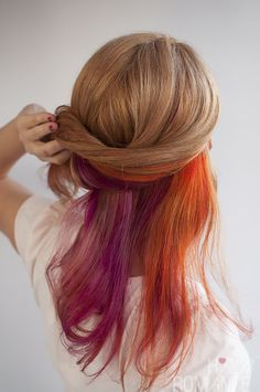 Big Hair Friday - my new hair colours @Jenn UrgenaYo - not the orange but I do love the bold. can you teach me how to do the braid?
