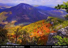 WV Mountains | North Fork of the Potomac River's Water Gap