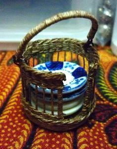 Basketcase Miniatures #miniatures #doll house