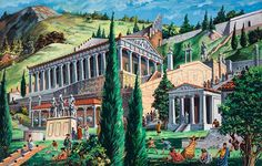 Delphi, picture, image, illustration