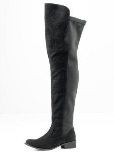 #ANDREA #CONTI #Damen #Overknees #schwarz Obermaterial: Synthetik (Microfaser), in Veloursoptik. Rückseitig mit Stretcheinsatz. Mit Microfaser-Futter. Flexible Laufsohle. Schaft-H/W ca.66/40 cm flexibel, Absatz-Höhe ca. 30 mm (bei Gr. 37).