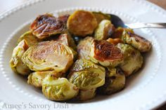 Amee's Savory Dish: Balsamic Roasted Brussels Sprouts