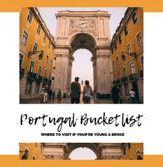 best places in Portugal pin