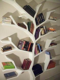 półka drzewo półka na książki