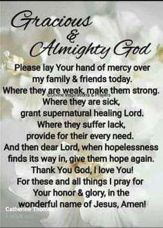Morning Prayer Quotes, Good Morning Prayer, Night Prayer, Morning Blessings, Morning Prayers, Good Morning Quotes, Monday Blessings, Prayer Room, Prayer Scriptures