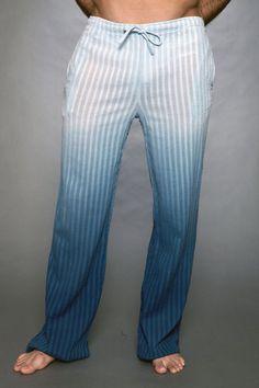Pistol Pete Marina Pant - Small, Blue Men's Sleepwear from UnderGear Mode Masculine, Mens Lounge Pants, Lounge Wear, Pistol Pete, Berlin Design, Mens Sleepwear, Smart Men, Future Clothes, Relax