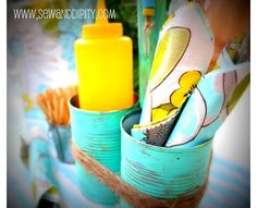 20 Recycled can ideas