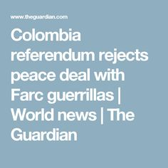 news worldnews southamerica colombia