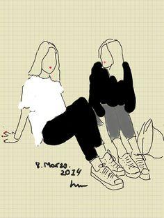 Fashion's Art Print Digital Illustration by AyaniGabilondo on Etsy