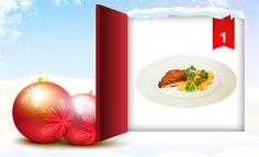 """Was haben wir heute für Euch hinter dem Fenster unseres clever® Adventkalenders 2012 versteckt?  Das 1. Weihnachtsmenü aus unserem """"clever® Kochbuch Weihnachten""""! Wie Ihr damit gewinnen könnt, erfahrt Ihr in unserem Onlinemagazin http://www.cleverleben.at/clever-magazin/post/2012/12/01/das-1-fenster-ist-offen.html"""