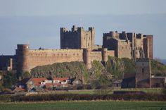 This photo was taken by Shrek Ogre - Bamburgh Castle.