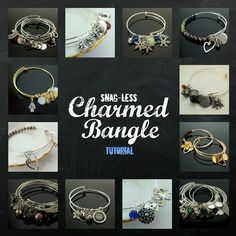 Charmed Bangle pdf DIY Jewelry Instructions by UnkamenSupplies, $1.00