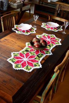 Receitas Círculo - Trilho e Sousplat Flores de Natal
