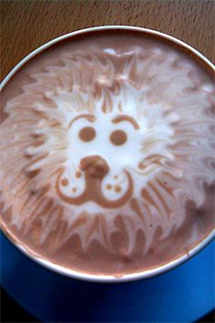 50 Fancy and Pretty Arts of Coffee Foam | The Design Inspiration