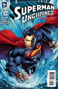 Superman Unchained #8 Cover E Incentive Ivan Reis Variant Cover