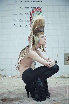 Men in Mesh, Heels & Masks - Antonella Arismendi's 'Illuminati' Erases Gender Lines (GALLERY)