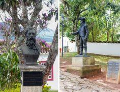 Centro da cidade de Tiradentes em Minas Gerais