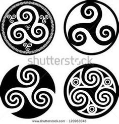 celtic Triskele drawing - - Yahoo Image Search Results