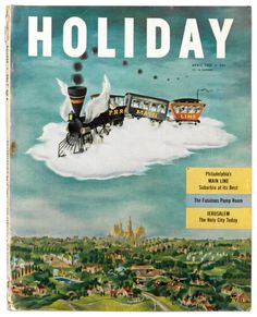 Holiday Magazine Cover - April 1950