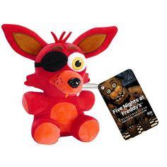 """Funko Five Nights at Freddy's 6 inch Plush Figure - Foxy - Funko - Toys """"R"""" Us"""