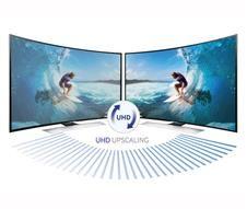 "Samsung 65"" HU9000 Curved 4K টিভি"