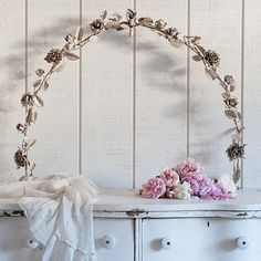 Rachel Ashwell Shabby Chic Couture® Vintage Metal Rose Arch