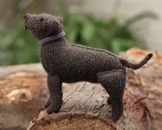 Free knitting pattern for Labrador Retriever and more dog knitting patterns