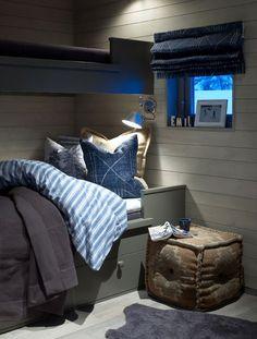 Une maison d'architecte en Norvège Chalet Interior, Home Interior, Interior Design Living Room, Living Room Designs, Interior And Exterior, Luxury Interior, Living Rooms, Bunk Beds Built In, Building A Cabin
