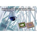 Renesas Electronics Delivers 8.48 MP CMOS Image Sensor for 4K Network Security Cameras