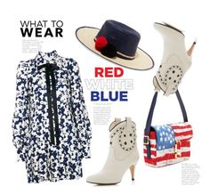 """""""Fourth of July Style...Enjoy! 😘"""" by badassbabyboomer ❤ liked on Polyvore featuring Marc Jacobs, Sophie Anderson and fourthofjuly"""