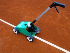 Máquina Trazadora pinta Líneas - Pistas tenis - Tierra Batida