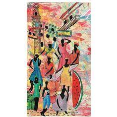 Trademark Fine Art La Bodeguita II Canvas Art by Robert Lulzan, 18x32, Multicolor