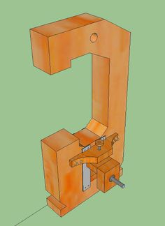 My DIY Bandsaw - 4th Shopmade Woodworking Tool #2: The Tension Adjuster - by Armand @ LumberJocks.com ~ woodworking community