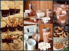 Ideas para bodas en Invierno.:detalles golosos/ winter wedding inspiration: lovely foodie ideas