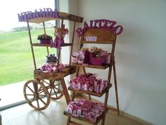 Table with sweets - Home Page Candy Bar Party, Candy Table, Candy Buffet, Ice Cream Party, Dessert Buffet, Dessert Bars, Candy Stand, Sweet Carts, Candy Cart