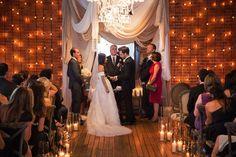 Intimate Candlelight Wedding