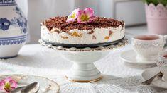 Nepečená broskyňová torta | Recepty.sk Pavlova, Panna Cotta, Pudding, Ethnic Recipes, Food, Dulce De Leche, Meal, Eten, Puddings