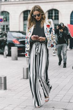 Ways to style an embroidered jacket. #clothing #fashion